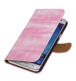 iHoez.nl Lizard Samsung Galaxy J5 Boekhoesje Roze