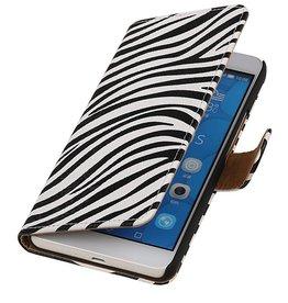 iHoez.nl Zebra LG G4c Boekhoesje Wit