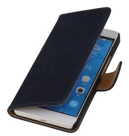 iHoez.nl Bark Samsung Galaxy J7 Boekhoesje Diep blauw