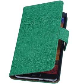iHoez.nl Devil Samsung Galaxy Note 2 Boekhoesje Groen