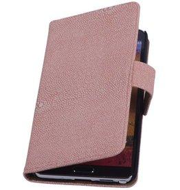 iHoez.nl Devil Samsung Galaxy Note 3 Boekhoesje Licht roze