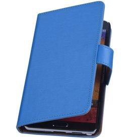 iHoez.nl S.L Samsung Galaxy Note 3 Boekhoesje Blauw