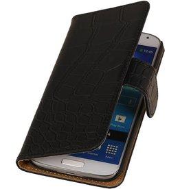 iHoez.nl Croco Samsung Galaxy Express 2 BoekhoesjeZwart