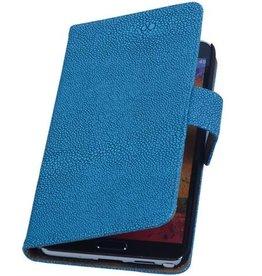 iHoez.nl Devil Samsung Galaxy Express 2 Boekhoesje Blauw