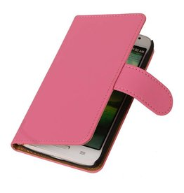 iHoez.nl Effen LG G3 Mini Boekhoesje Roze