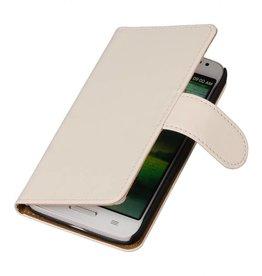 iHoez.nl Effen LG G3 Mini Boekhoesje Wit