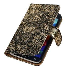 iHoez.nl Lace Samsung Galaxy Note 4 Zwart Boekhoesje