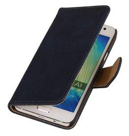 iHoez.nl Bark Samsung Galaxy A5 Diep blauw Boekhoesje