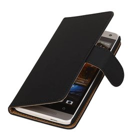iHoez.nl HTC Desire 500 hoesje Boek Classic Zwart