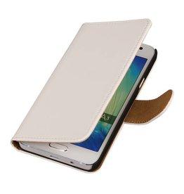 iHoez.nl HTC Desire 516 hoesje Boek Classic Wit