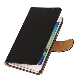iHoez.nl HTC Desire 516 hoesje Boek Classic Zwart