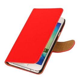 iHoez.nl HTC Desire 516 hoesje Boek Classic Rood