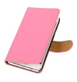 iHoez.nl HTC Desire 516 hoesje Boek Classic Roze