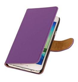 iHoez.nl HTC Desire 516 hoesje Boek Classic Paars