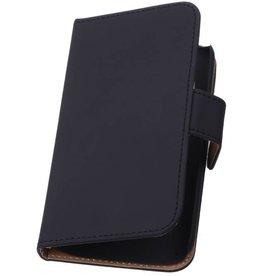 iHoez.nl Effen Motorola Nexus 6 Zwart Boekhoesje