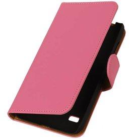 iHoez.nl Hoes voor Huawei Honor 3C hoesje Roze