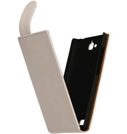 iHoez.nl Flip Hoes voor LG G3 Mini Wit