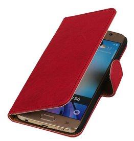 iHoez.nl Samsung Galaxy A5 Leren Boekhoesje Roze