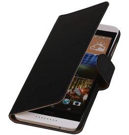 iHoez.nl HTC Desire 526 Hoesje Boek Zwart
