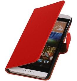 iHoez.nl HTC Desire 526 Hoesje Boek Rood