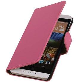 iHoez.nl HTC Desire 526 Hoesje Boek Roze