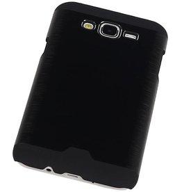 iHoez.nl Hardcase Galaxy J7 Lichte Aluminium Zwart