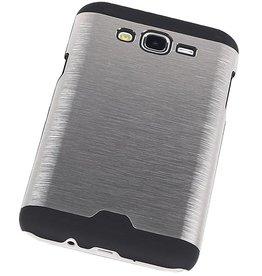 iHoez.nl Hardcase Galaxy J7 Lichte Aluminium Zilver