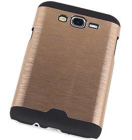iHoez.nl Hardcase Galaxy J7 Lichte Aluminium Goud