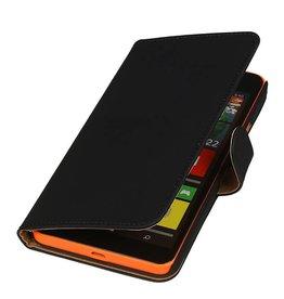 iHoez.nl Microsoft Lumia 640 XL Hoesje Boek Zwart