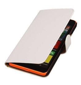 iHoez.nl Microsoft Lumia 640 XL Hoesje Boek Wit