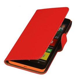 iHoez.nl Microsoft Lumia 640 XL Hoesje Boek Rood