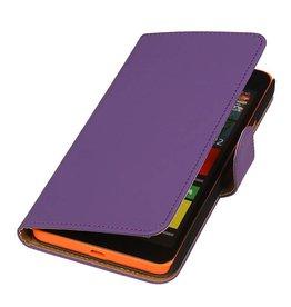 iHoez.nl Microsoft Lumia 640 XL Hoesje Boek Paars