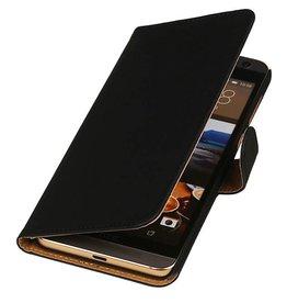 iHoez.nl HTC One M9 Plus Zwart Boekhoesje