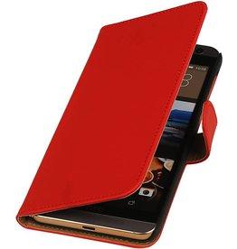 iHoez.nl HTC One M9 Plus Hoesje Boek Rood