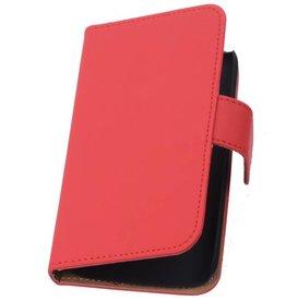 iHoez.nl HTC One M7 Hoesje Boek Rood