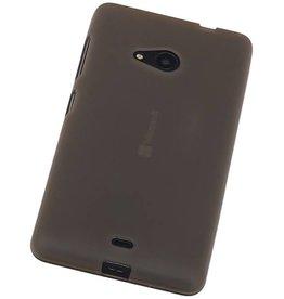 iHoez.nl Microsoft Lumia 535 TPU Hoesje Grijs