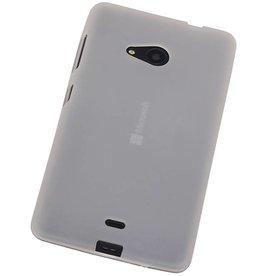 iHoez.nl Microsoft Lumia 535 TPU Hoesje Wit