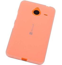 iHoez.nl Microsoft Lumia 640 XL TPU Hoesje Wit