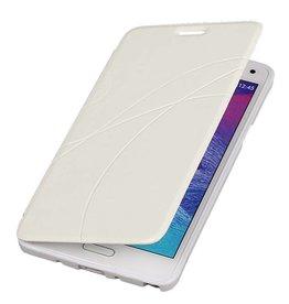 iHoez.nl Easy Samsung Galaxy Note 4 Wit Boekhoesje