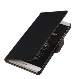 iHoez.nl Huawei P8 Max Hoesje Boek Zwart