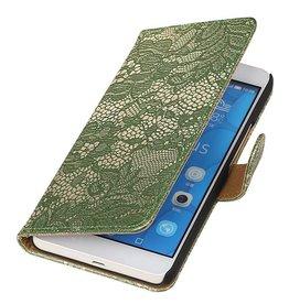 iHoez.nl Lace LG G4c Donker groen Boekhoesje