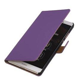 iHoez.nl Sony Xperia Z4 Compact Hoesje Boek Paars