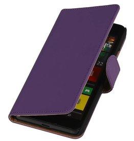 iHoez.nl Lumia 550 hoesje Paars