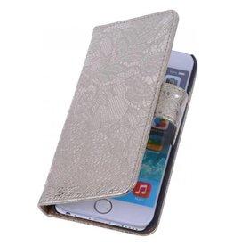iHoez.nl Lace iPhone 6 Plus hoesje boek Classic Goud