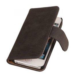 iHoez.nl Bark iPhone 6 Plus hoesje boek Classic Grijs
