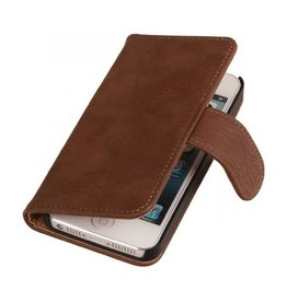 iHoez.nl Bark iPhone 6 Plus hoesje boek Classic Bruin