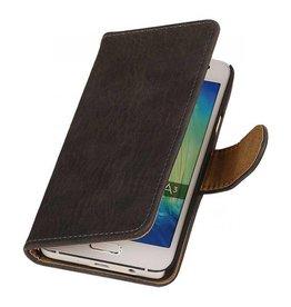 iHoez.nl Bark Samsung Galaxy A3 Boekhoesje Grijs