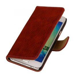 iHoez.nl Bark Samsung Galaxy A3 Boekhoesje Rood