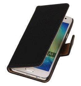 iHoez.nl Bark Samsung Galaxy A3 Boekhoesje Zwart