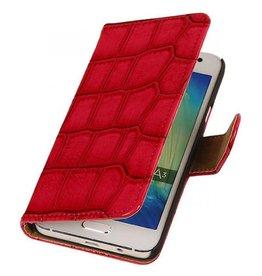 iHoez.nl Croco Samsung Galaxy Grand Prime Roze